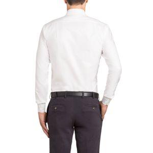 Button Down shirt in white cotton