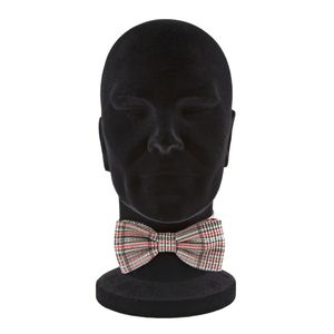 Cotton and silk blend bow tie