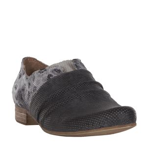 Slip-on in cuoio bicolore