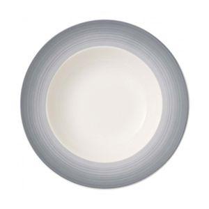 Colorful Life gray deep plate