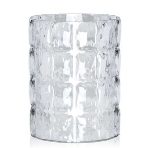 Padded vase in transparent PMMA