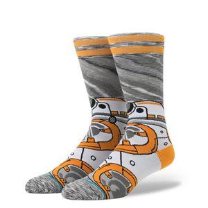 Star Wars sock with BB-8 design