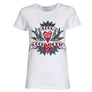 Love Cool Chic T-shirt with sequins and embroidery