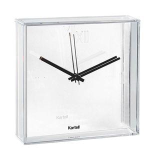 White Tic & Tac wall clock