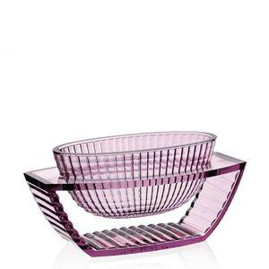 Centerpiece vase U Shine pink