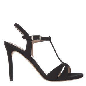Open toe sandals with 11cm stiletto heel