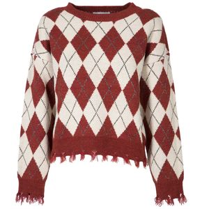 Diamond sweater