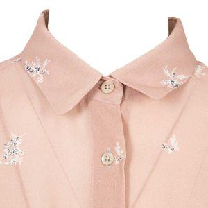 Pink Elettra woman pendant shirt
