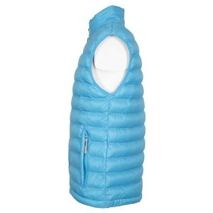 Sleeveless down jacket with pockets