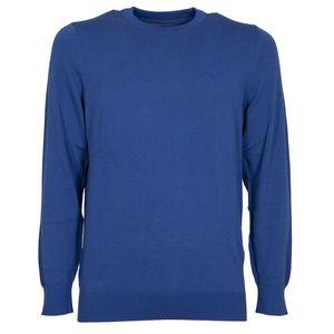 Summer crewneck sweater with logo