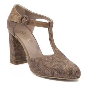 Rossella brown sandal made in Italy