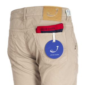 J613 trousers with micro texture