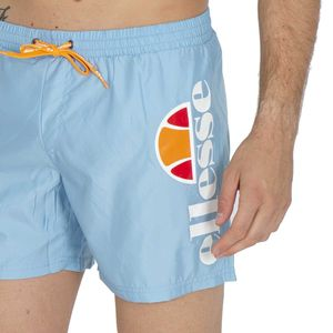 Light blue boxer costume with logo