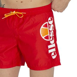 Red boxer costume with logo