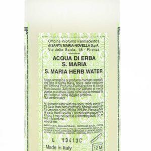 Water Lotion from Erba di S. Maria