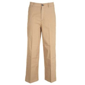 Palazzo trousers with micro texture