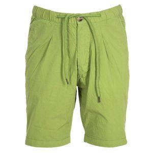 Stretch cotton bermuda shorts