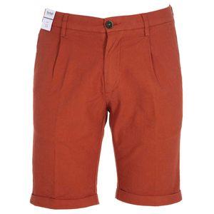 Bermuda shorts with mini texture