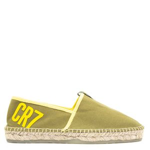 CR7 espadrilles in canvas and leather
