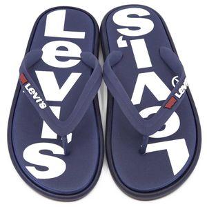 Delamar flip flops with logo