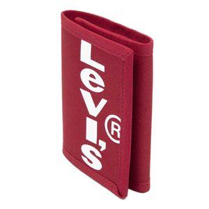 Portafoglio rosso con logo