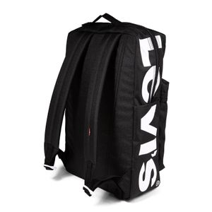 Black L Pack backpack with logo