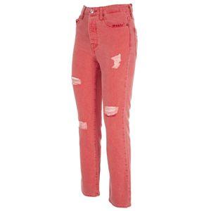 Jeans skinny fit con abrasioni