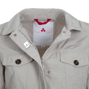 Jacket with double front pockets