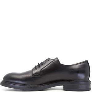 Oxford in black leather