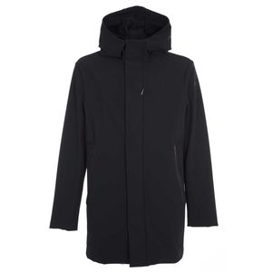 Padded jacket with four external pockets