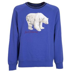 Pullover Oltremare round neck Bear