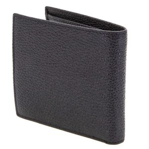 Wallet in textured leather