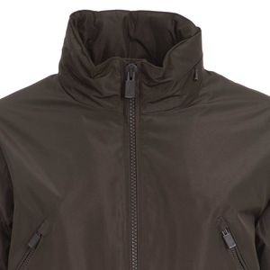 Evoluto green jacket with multipockets