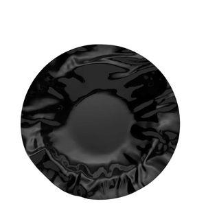 Black round basket