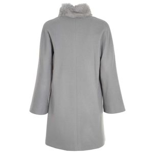 Coat lined in cashmere blend
