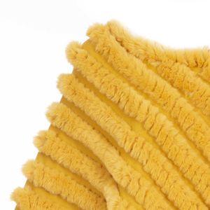Poncho in pelliccia sintetica misto cashmere