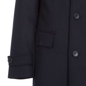 Wool and cashmere blend overcoat