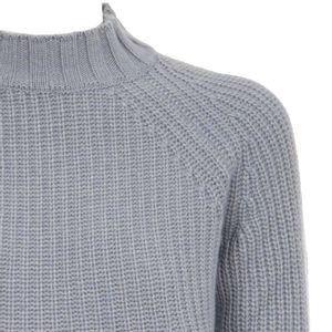 Ribbed wool pullover