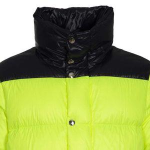 Fluo yellow down jacket Al013 / S 3K