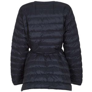 Curvone long quilted down jacket