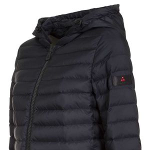 Halford long quilted down jacket MQ