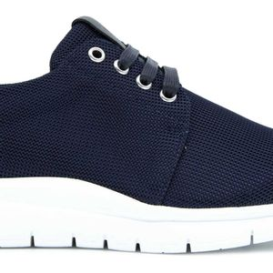 Sneakers in perforated fabric