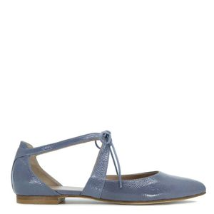 Giselle sky blue sandal with lace