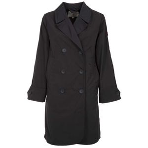 Epoxies MX blue double-breasted trench coat