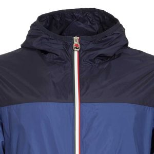 Light two-tone jacket with hood