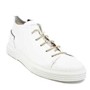 White sneakers in Nausica leather