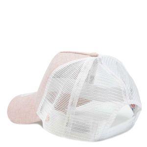 Cappellino bicolore con logo LA bianco