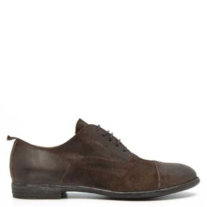 Beat brown leather shoe