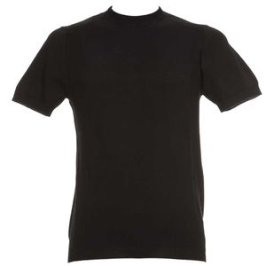 T-Shirt slim fit con mini trama