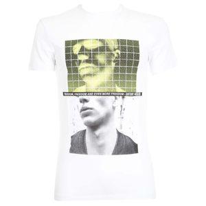 Fluorescent safari print t-shirt